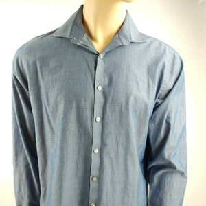 Kenneth Cole Reaction Shirt Size L 16 1/2 34/35